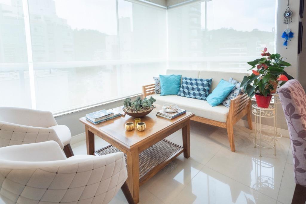apartamento com 3 dormitórios à venda, 121 m² por r$ 900.000,00 - jardim blumenau - blumenau/sc - ap2838