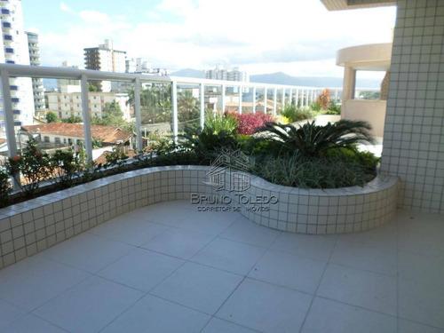apartamento com 3 dormitórios à venda, 122 m² por r$ 525.000 - vila guilhermina - praia grande/sp - ap0006