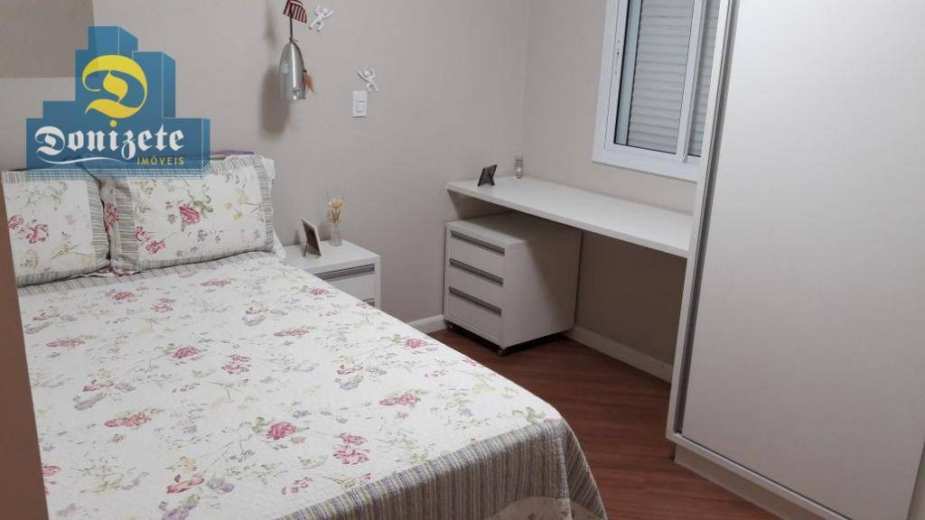apartamento com 3 dormitórios à venda, 122 m² por r$ 800.000,00 - jardim - santo andré/sp - ap8070