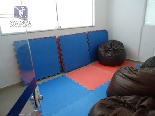 apartamento com 3 dormitórios à venda, 124 m² por r$ 795.000,00 - parque das nações - santo andré/sp - ap2374