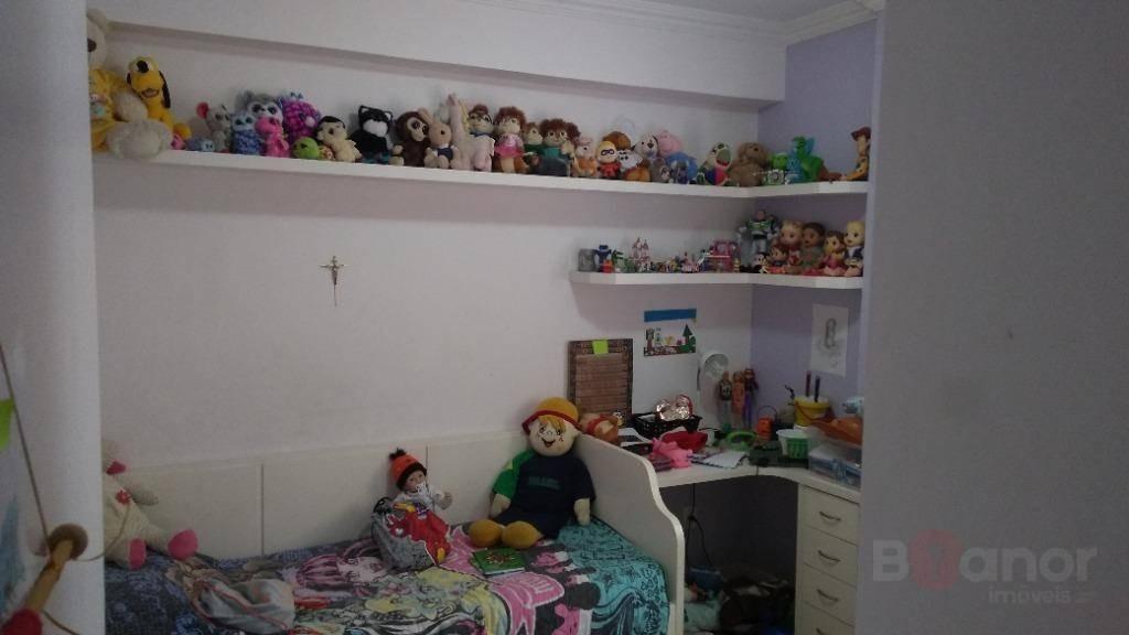 apartamento com 3 dormitórios à venda, 125 m² por r$ 300.000,00 - centro - blumenau/sc - ap0754