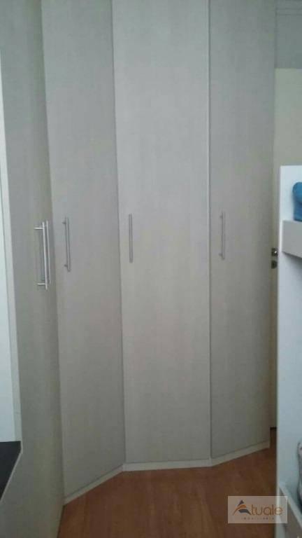 apartamento com 3 dormitórios à venda, 125 m² por r$ 458.000 - jardim nova europa - campinas/sp - ap5871