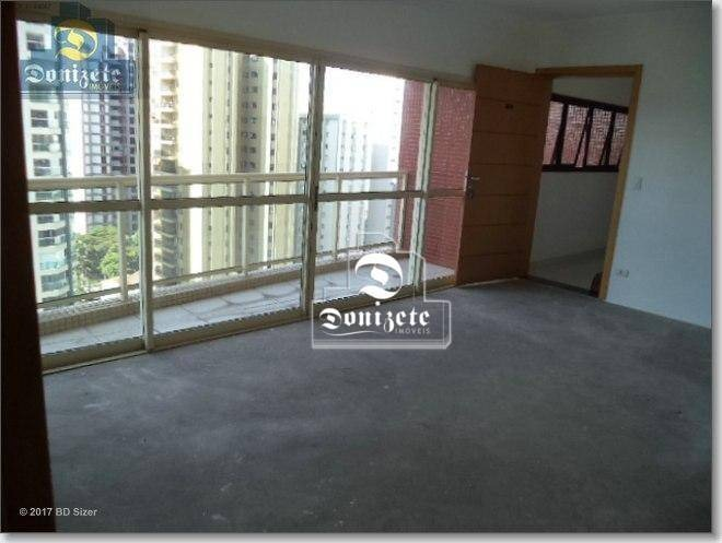 apartamento com 3 dormitórios à venda, 125 m² por r$ 825.000,00 - jardim - santo andré/sp - ap12565