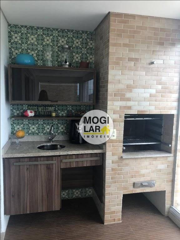 apartamento com 3 dormitórios à venda, 125 m² por r$ 850.000,00 - vila oliveira - mogi das cruzes/sp - ap0160