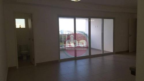 apartamento com 3 dormitórios à venda, 126 m² por r$ 865.000 - parque campolim - sorocaba/sp - ap0782
