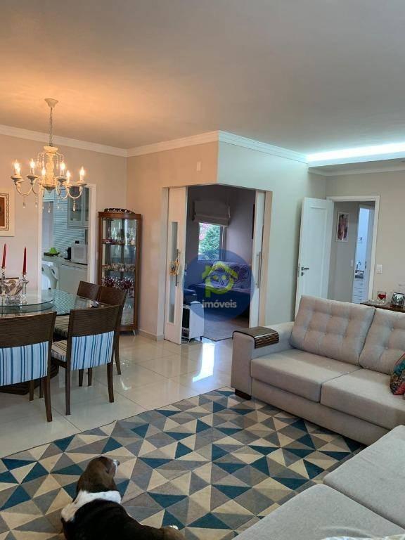 apartamento com 3 dormitórios à venda, 127 m² por r$ 690.000 - jardim vivendas - são josé do rio preto/sp - ap7244