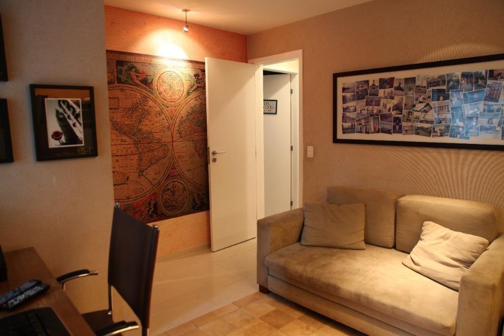 apartamento com 3 dormitórios à venda, 128 m² por r$ 1.000.000 - são francisco - niterói/rj - ap1702