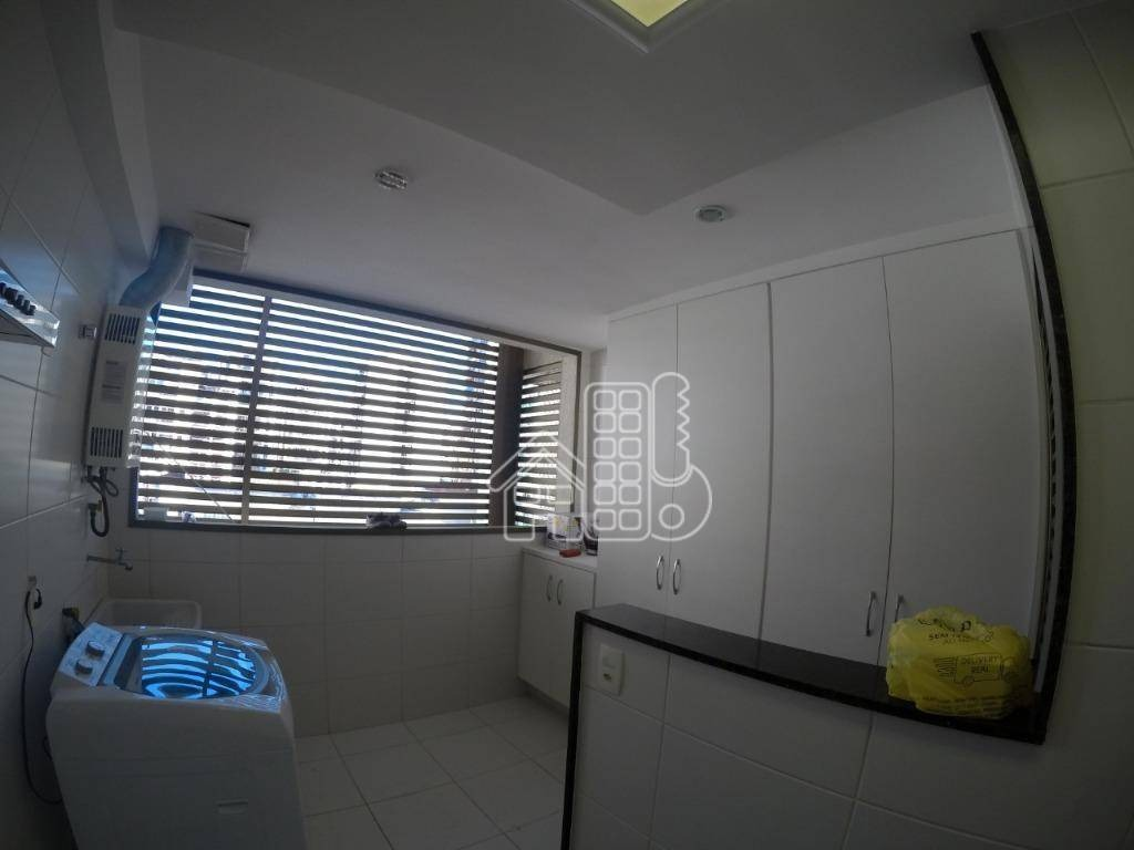 apartamento com 3 dormitórios à venda, 128 m² por r$ 1.050.000,00 - icaraí - niterói/rj - ap2763