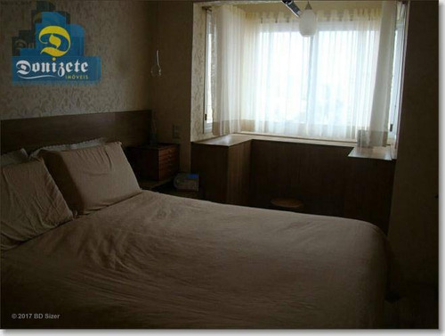 apartamento com 3 dormitórios à venda, 128 m² por r$ 1.100.000,00 - centro - santo andré/sp - ap3681