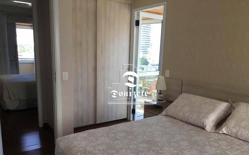 apartamento com 3 dormitórios à venda, 128 m² por r$ 1.150.000,00 - centro - santo andré/sp - ap12601