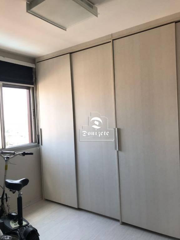 apartamento com 3 dormitórios à venda, 129 m² por r$ 583.000,10 - vila assunção - santo andré/sp - ap7053