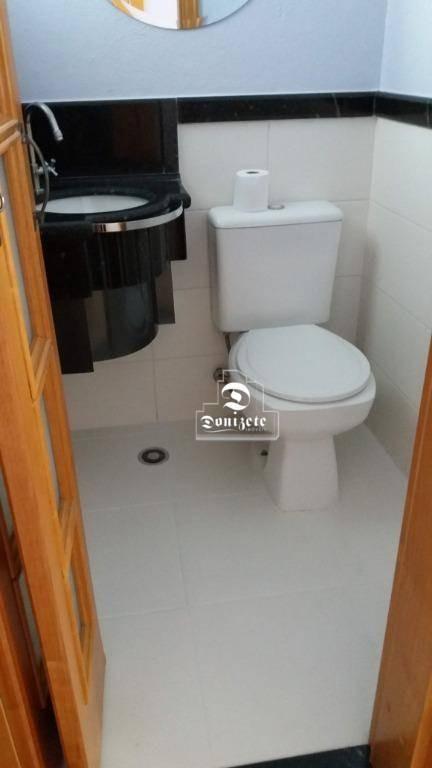 apartamento com 3 dormitórios à venda, 129 m² por r$ 820.000 - vila assunção - santo andré/sp - ap13659