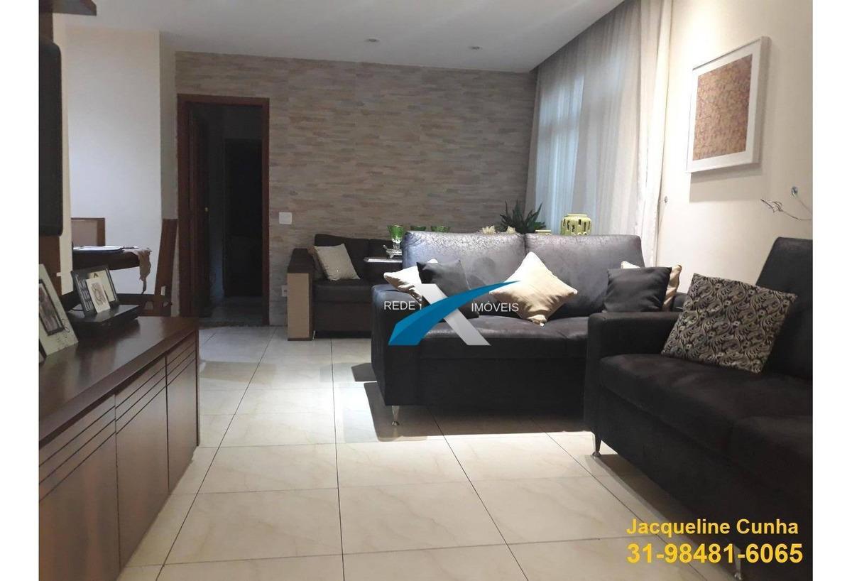 apartamento com 3 dormitórios à venda, 130 m² por r$ 720.000 - gutierrez - belo horizonte/mg - ap5199
