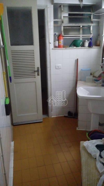 apartamento com 3 dormitórios à venda, 130 m² por r$ 770.000,00 - icaraí - niterói/rj - ap1965