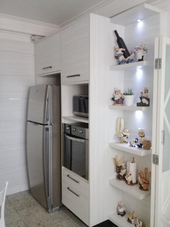 apartamento com 3 dormitórios à venda, 133 m² por r$ 1.049.000,00 - vila assunção - santo andré/sp - ap1406