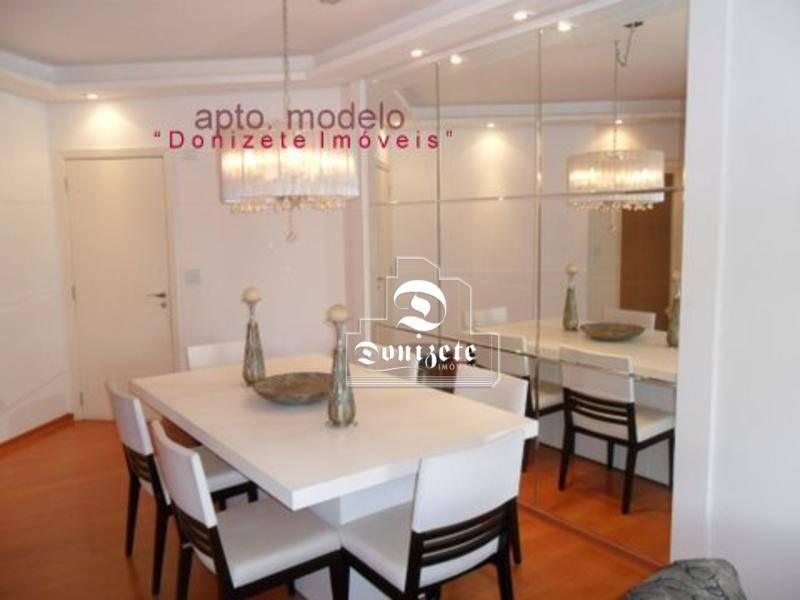 apartamento com 3 dormitórios à venda, 133 m² por r$ 645.000,01 - vila assunção - santo andré/sp - ap0106
