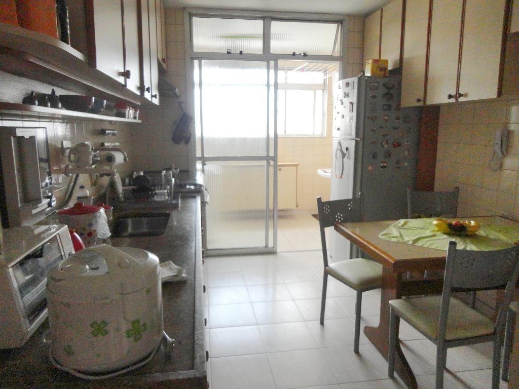 apartamento com 3 dormitórios à venda, 133 m² por r$ 750.000,00 - belenzinho - são paulo/sp - ap0214