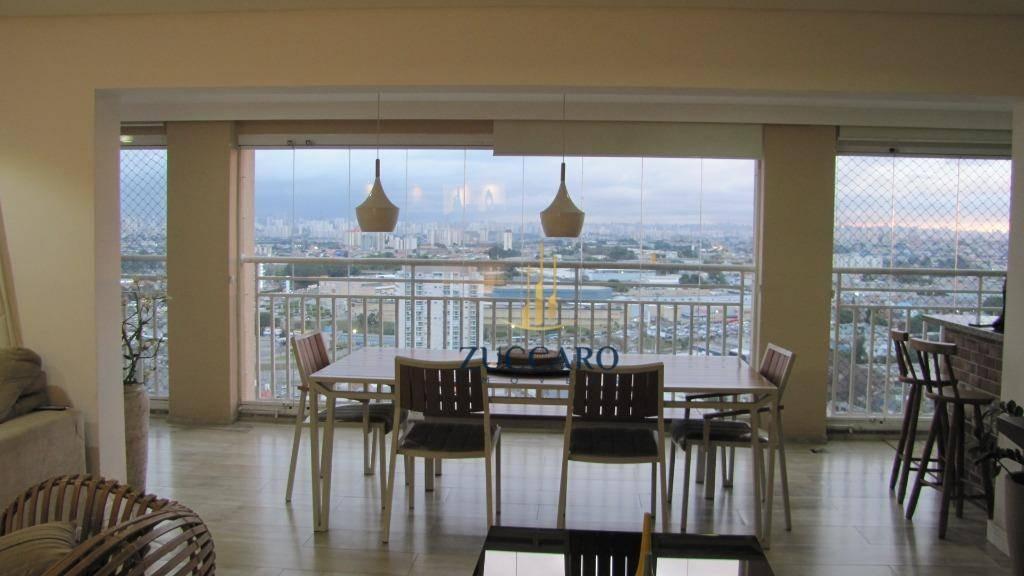 apartamento com 3 dormitórios à venda, 134 m² por r$ 950.000,00 - vila augusta - guarulhos/sp - ap13290