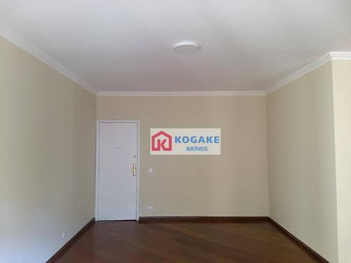 apartamento com 3 dormitórios à venda, 135 m² por r$ 506.000 - vila ema - são josé dos campos/sp - ap5300