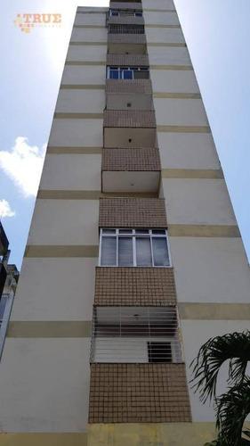 apartamento com 3 dormitórios à venda, 136 m² por r$ 350.000,00 - espinheiro - recife/pe - ap3392