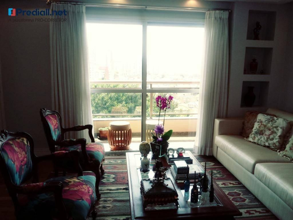 apartamento com 3 dormitórios à venda, 137 m² por r$ 1.100.000 - freguesia do ó - são paulo/sp - ap4093