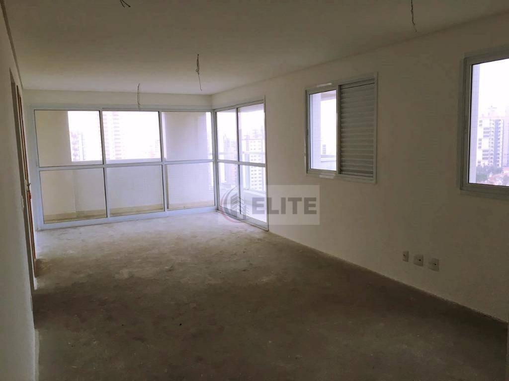 apartamento com 3 dormitórios à venda, 139 m² por r$ 999.000,00 - jardim - santo andré/sp - ap0692