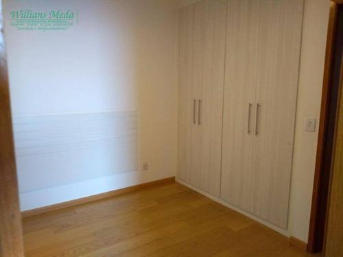 apartamento com 3 dormitórios à venda, 140 m² por r$ 850.000 - vila milton - guarulhos/sp - ap1874