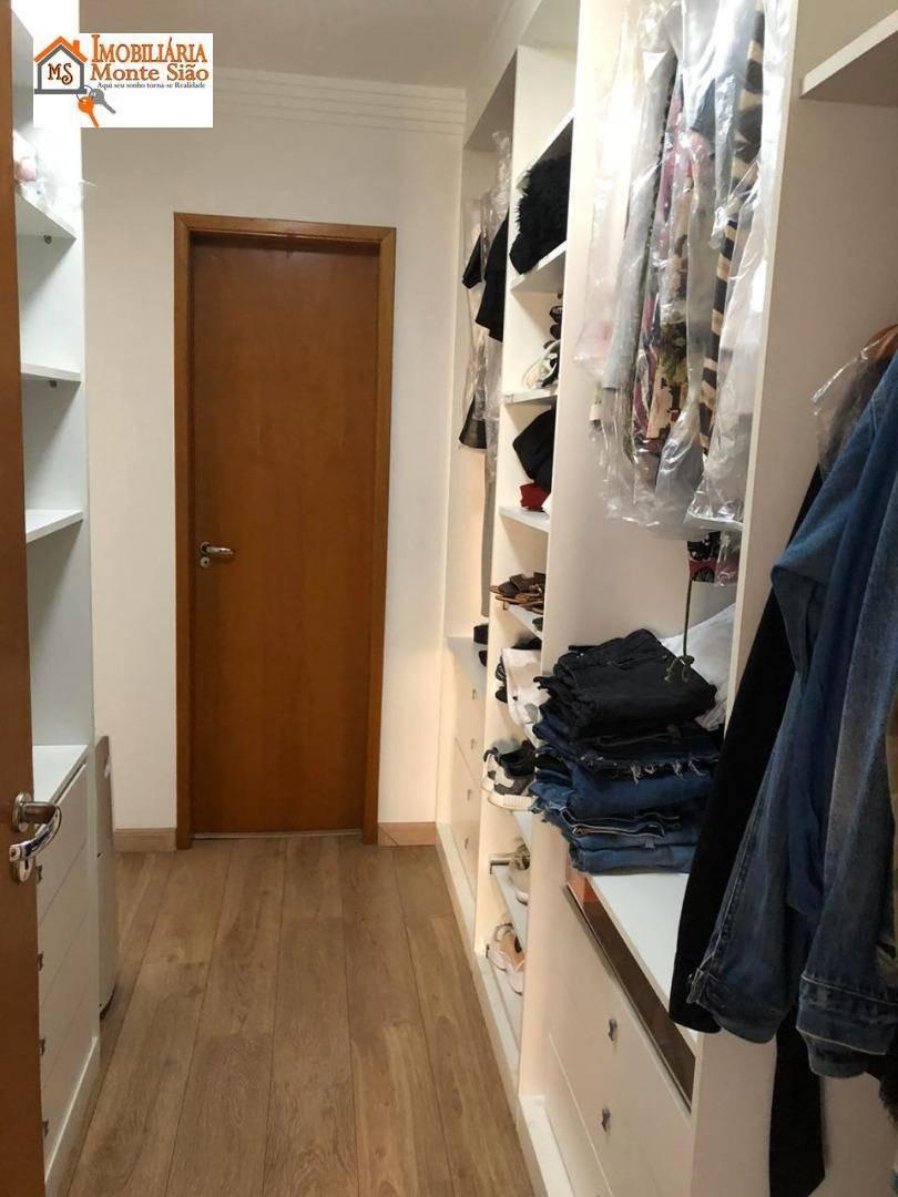 apartamento com 3 dormitórios à venda, 140 m²  - vila milton - guarulhos/sp - ap1285