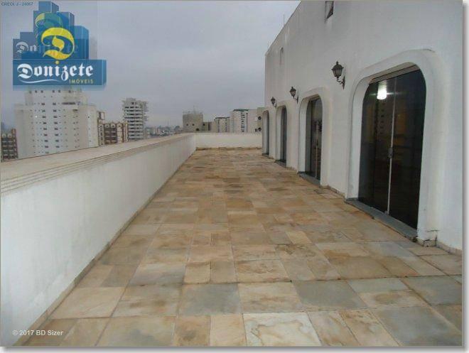 apartamento com 3 dormitórios à venda, 141 m² por r$ 595.000,00 - jardim bela vista - santo andré/sp - ap0359