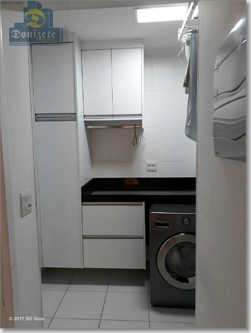 apartamento com 3 dormitórios à venda, 144 m² por r$ 1.378.000,00 - campestre - santo andré/sp - ap0221