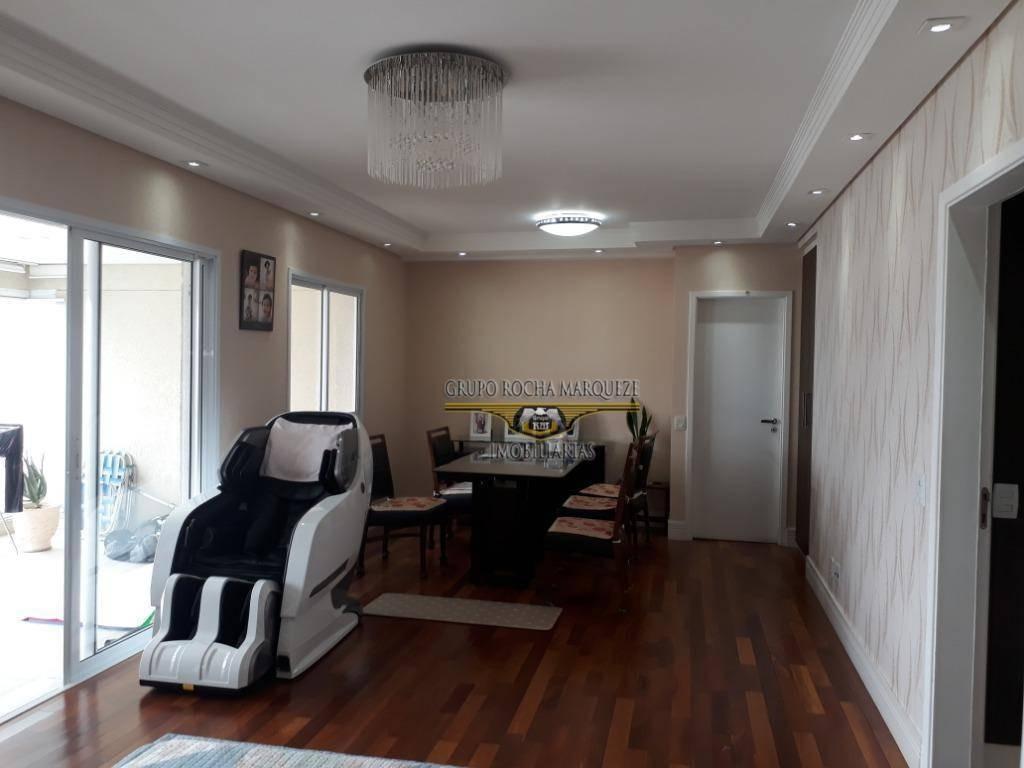 apartamento com 3 dormitórios à venda, 146 m² por r$ 1.500.000,00 - belém - são paulo/sp - ap1961