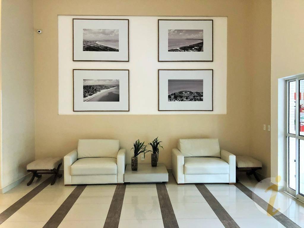 apartamento com 3 dormitórios à venda, 147 m² por r$ 990.000 - bairro dos estados - joão pessoa/pb - ap6612
