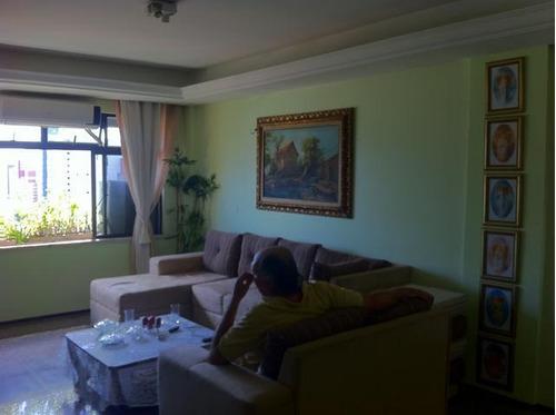 apartamento com 3 dormitórios à venda, 150 m² por r$ 630.000 - dionisio torres - fortaleza/ce - ap0551