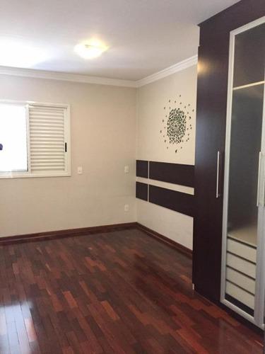 apartamento com 3 dormitórios à venda, 152 m² por r$ 1.100.000 - barcelona - são caetano do sul/sp - ap3017