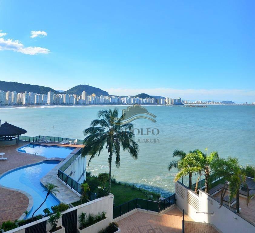apartamento com 3 dormitórios à venda, 154 m² por r$ 1.500.000,00 - jardim astúrias - guarujá/sp - ap1097