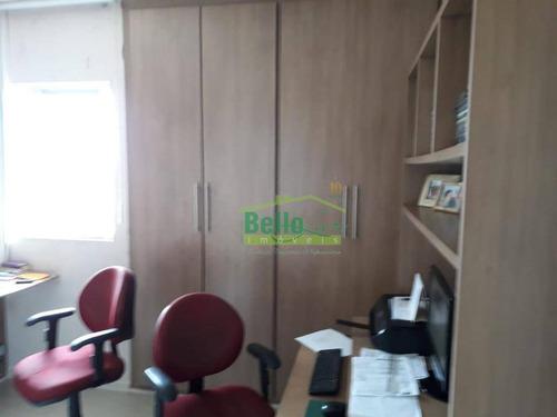 apartamento com 3 dormitórios à venda, 156 m² por r$ 500.000 - casa caiada - olinda/pe - ap1020
