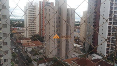 apartamento com 3 dormitórios à venda, 156 m² por r$ 780.000 - centro - ribeirão preto/sp - ap3622