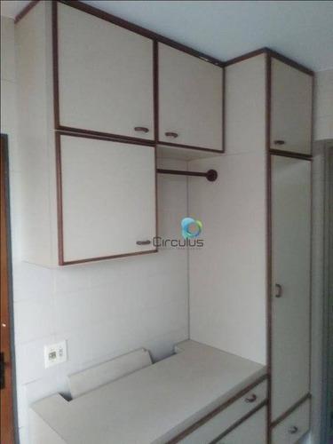 apartamento com 3 dormitórios à venda, 157 m² por r$ 520.000 - centro - ribeirão preto/sp - ap1991