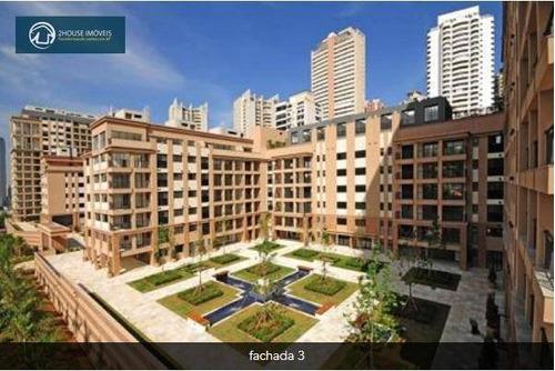 apartamento com 3 dormitórios à venda, 158 m² por r$ 1.495.000,00 - cidade jardim - são paulo/sp - ap23355