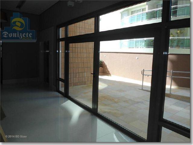 apartamento com 3 dormitórios à venda, 160 m² por r$ 1.150.000,00 - jardim - santo andré/sp - ap0213