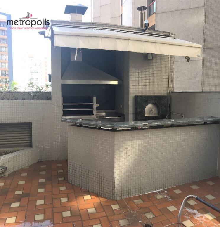 apartamento com 3 dormitórios à venda, 160 m² por r$ 795.000,00 - santa paula - são caetano do sul/sp - ap0059