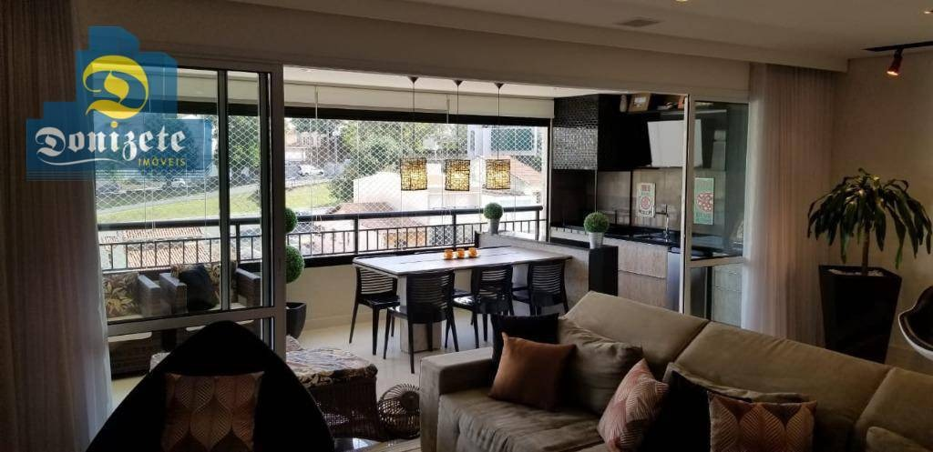apartamento com 3 dormitórios à venda, 162 m² por r$ 1.600.000,00 - jardim bela vista - santo andré/sp - ap9096