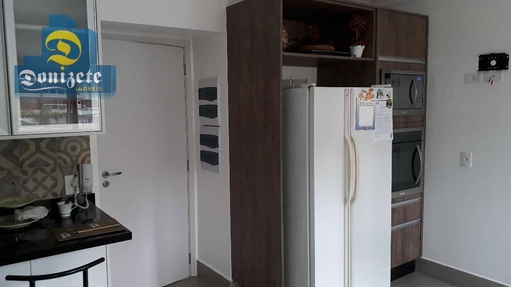 apartamento com 3 dormitórios à venda, 165 m² por r$ 1.250.000,00 - jardim - santo andré/sp - ap7568