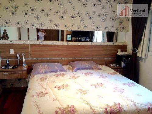 apartamento com 3 dormitórios à venda, 165 m² por r$ 1.480.001 - tatuapé - são paulo/sp - ap4743