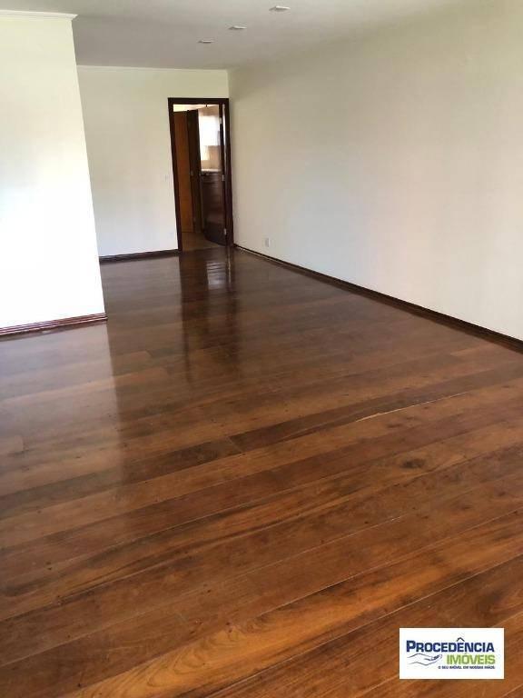apartamento com 3 dormitórios à venda, 168 m² por r$ 650.000 - vila redentora - são josé do rio preto/sp - ap7122