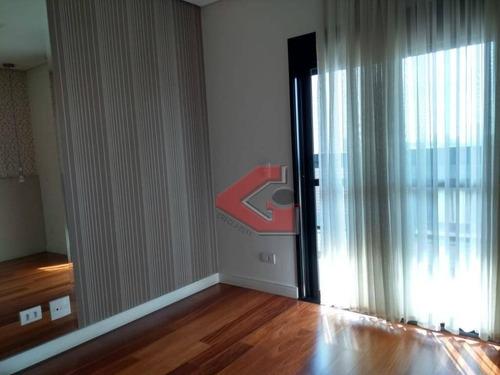 apartamento com 3 dormitórios à venda, 170 m² por r$ 1.500.000 - vila dayse - são bernardo do campo/sp - ap2820