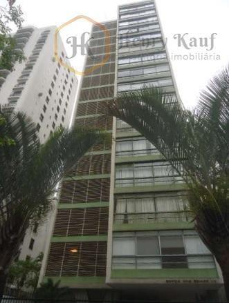 apartamento com 3 dormitórios à venda, 172 m² por r$ 1.600.000 alameda franca - jardim paulista - são paulo/sp - ap1309