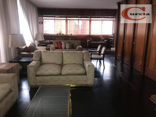 apartamento com 3 dormitórios à venda, 180 m² por r$ 1.100.000 - bela vista - são paulo/sp - ap5558