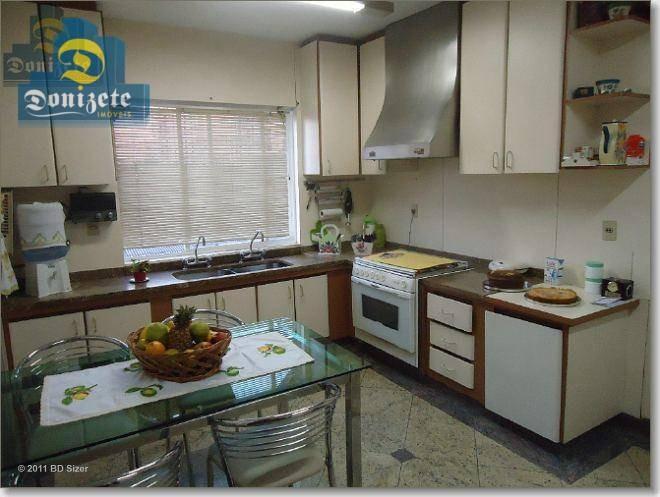 apartamento com 3 dormitórios à venda, 200 m² por r$ 1.100.000,00 - centro - santo andré/sp - ap7156