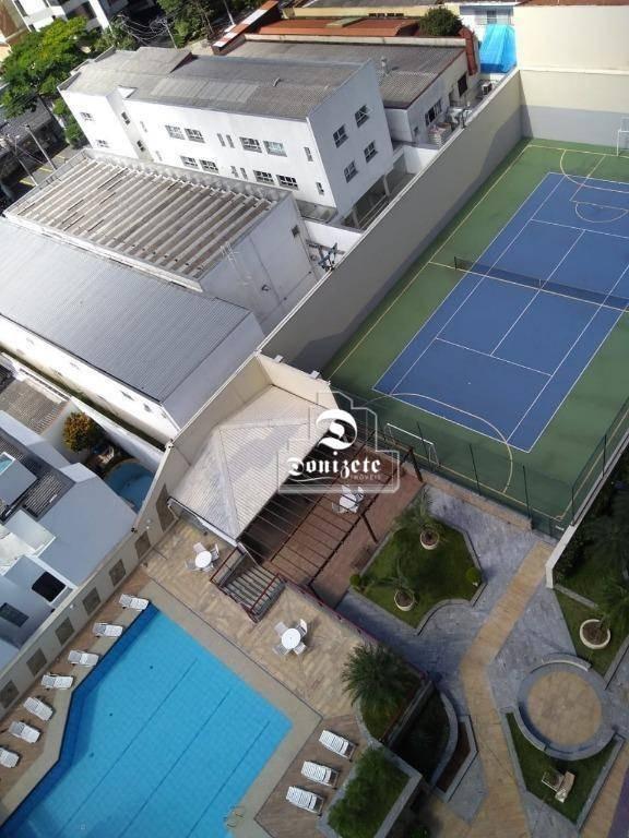 apartamento com 3 dormitórios à venda, 202 m² por r$ 1.065.000,01 - jardim - santo andré/sp - ap3881